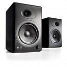 Audioengine A5+ Bookshelf Speakers, Black