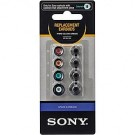 Sony's Spare earbuds for EX Series headphones (4 sizes) - White