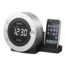Sony's iPod® and iPhone® Dock Clock Radio