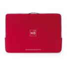 Tucano Neoprene Second Skin Sleeve MacBook 13  Red