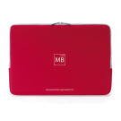 Tucano Neoprene Second Skin Sleeve MacBook 13 Red