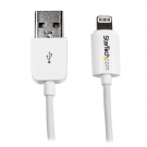 StarTech 3m (10ft) White Apple 8-pin Lightning Connector to USB Cable